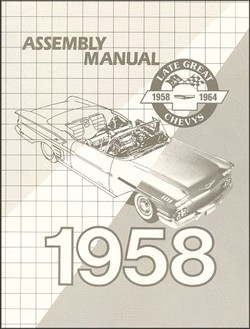 Chevy Assembly Manual, 1958