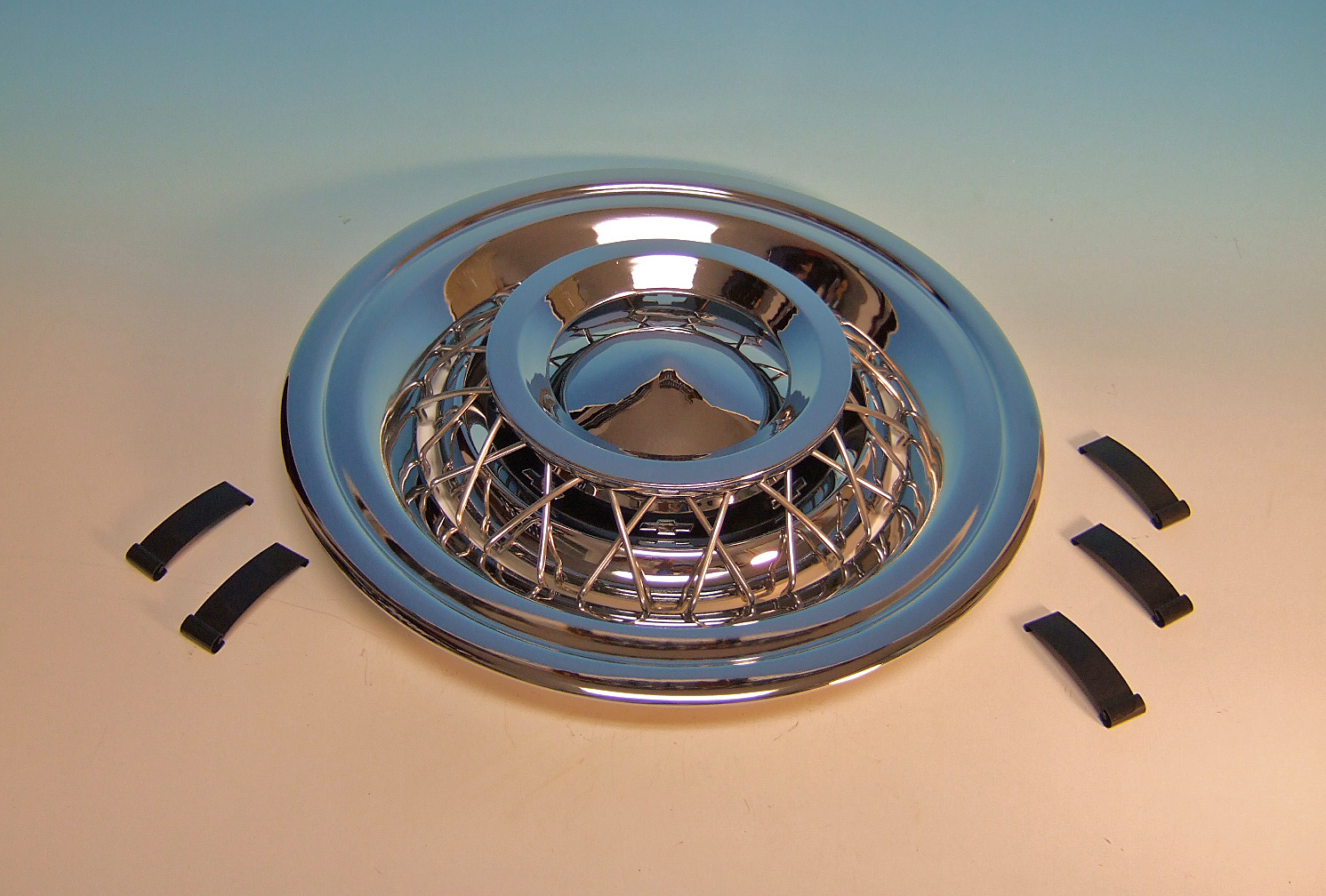 56 Chevy Wire Wheel Cover 1956 Accessory GM Chevrolet