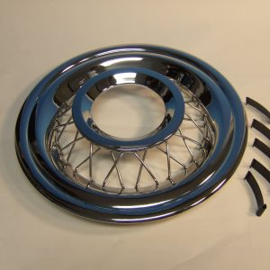 1956 Chevy Wire Wheel Covers, Accessory, Set of 4 With Clips