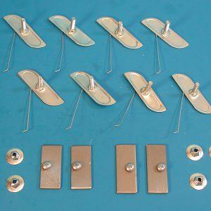 Chevy BelAir Door Molding Clip Set 1959 BA