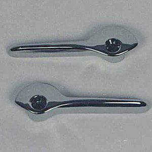 55 56 57 58 59 60 Chevy Convertible Top Handles New