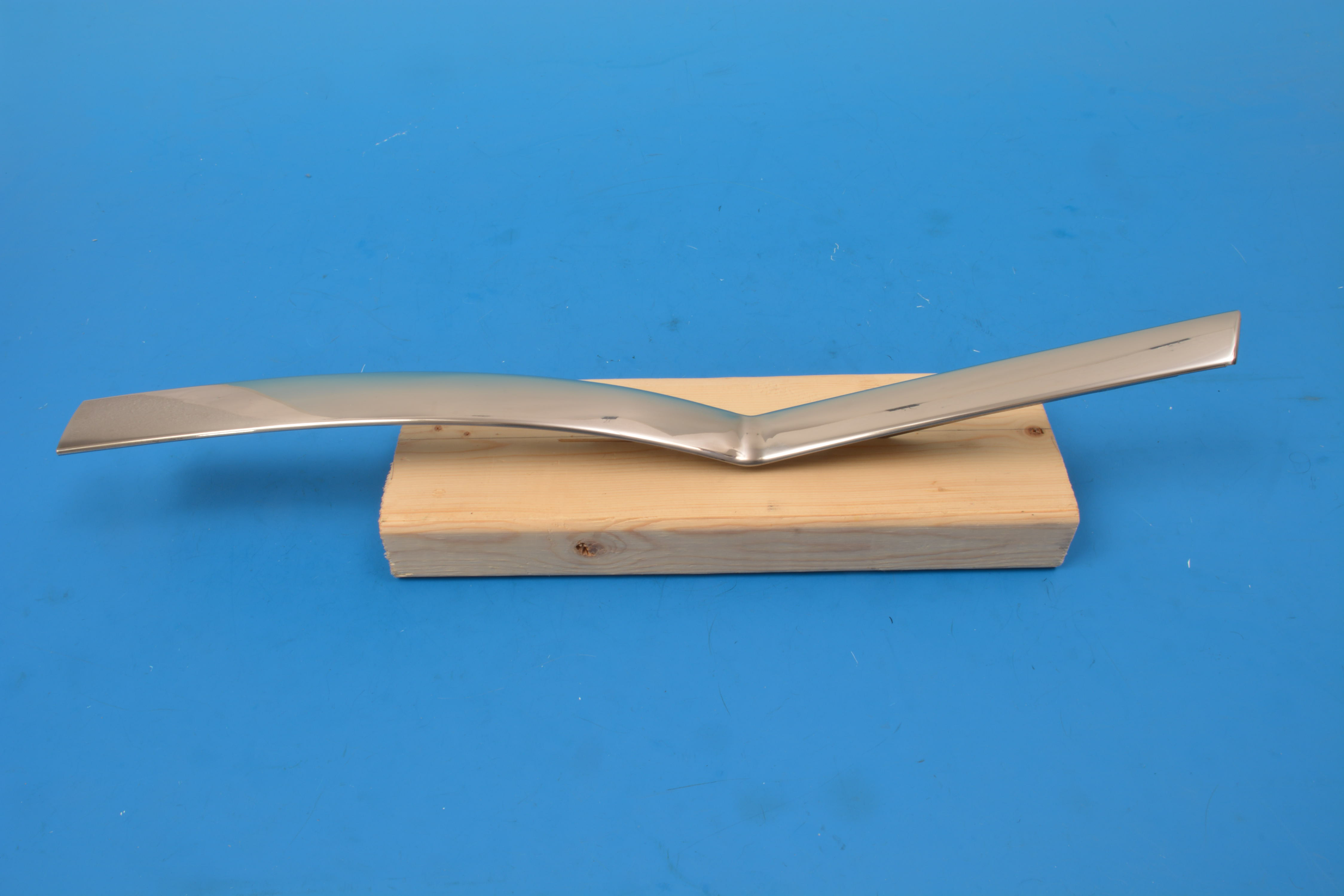 Chevy Quarter Beltline Molding, Right, Convertible, 1955-1957