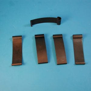 Chevy Wire Wheel Cover Clip Set, 1956