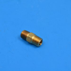 Chevy Fuel Filter to Carter Carburetor Brass Fitting, 1955-1957