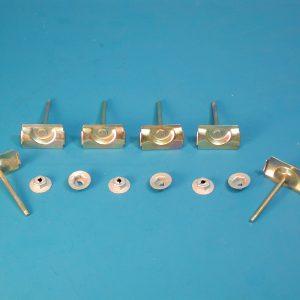 Chevy Windshield Upper Molding Clip Set, 1959-1960
