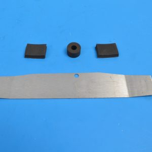Chevy Grille Bar Emblem Mounting Kit, 1957