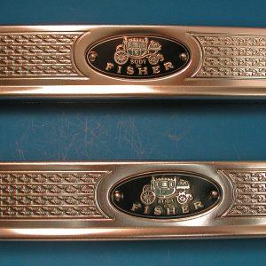 Chevrolet Sill Plates 4-Door Sedan & Wagon, 1955-1957