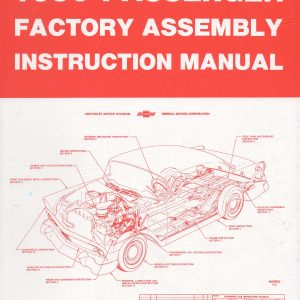 Chevy assembly manual 1956