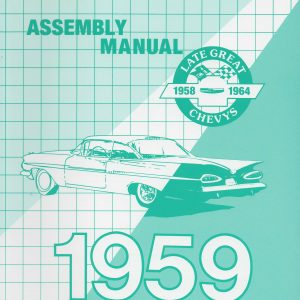 Chevy Passenger Factory Assembly Manual, 1959