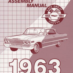 Chevy Passenger Factory Assembly Manual, 1963