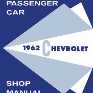 1962 Chevy Shop Manual, Supplement to 1961, 62 61