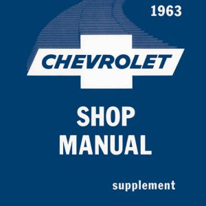 1963 Chevrolet Shop Manual, Supplement to 1961