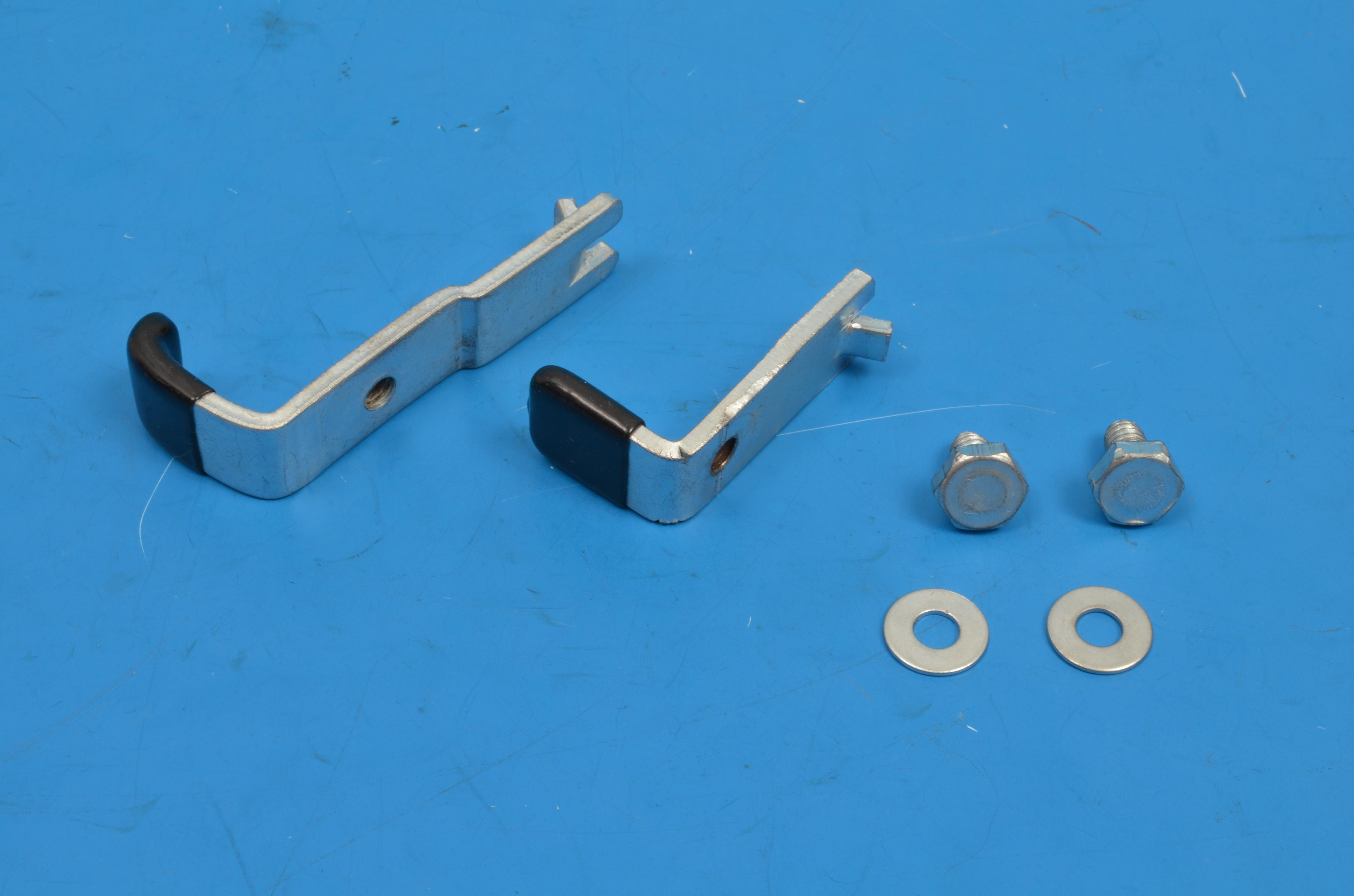 Chevy Door Glass Stops, Forward & Rear Set, 1961-1964