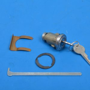 Chevy Trunk Lock Kit, Reproduction with Keys, 1955-1958