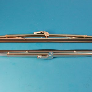 Chevy Wind Washer Blades, Polished Stainless Steel, 1955-1958