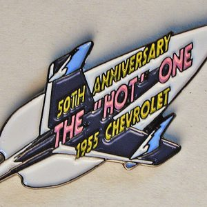"limited 50th Anniversary ""The Hot One"" Classic Collector Pin"
