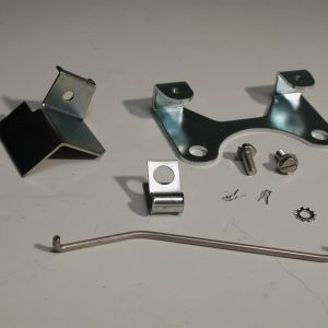 Chevy Backup Lights Switch Bracket Kit, Muncie, 1955-1964