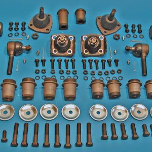 1955-1957 Chevy Front Suspension Rebuild Kit, Power Steering