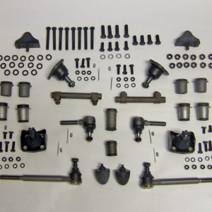 Chevy Front End Rebuild Kit, Urethane, Standard Steering, 55-57