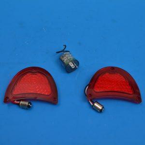 Chevy 'LED' Taillight Lens Kit, 1957