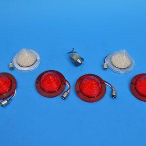 Chevy 'LED' Taillight & Backup Lens Kit, 1960-1961