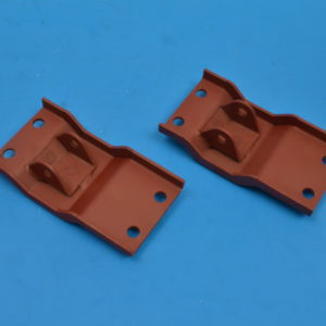 Chevy Convertible Top Cylinder to Floor Bracket, Left & Right, 1959-1960