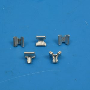 Chevy Lower Grille Clip Set, Spread-type, 1958-1961
