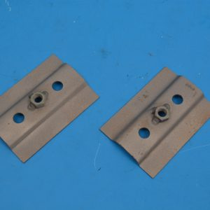 Chevy Convertible Top Cylinder Bracket Support Plates, 1955-1957