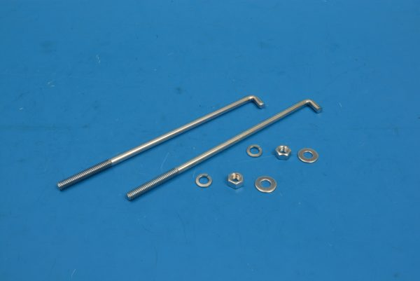 Chevy Battery Retainer Hold Down Bolts, 1955-1956