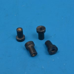 Chevy Windshield Wiper Motor-to-Body Rubber Nut Set, 1958